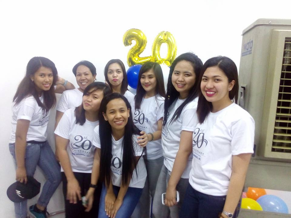 20th Anniversary - Laguna Administrators and Coordinators