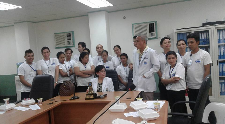 ICC Orientation Housekeeping Department at Sta. Rosa Hospital and Medical Center