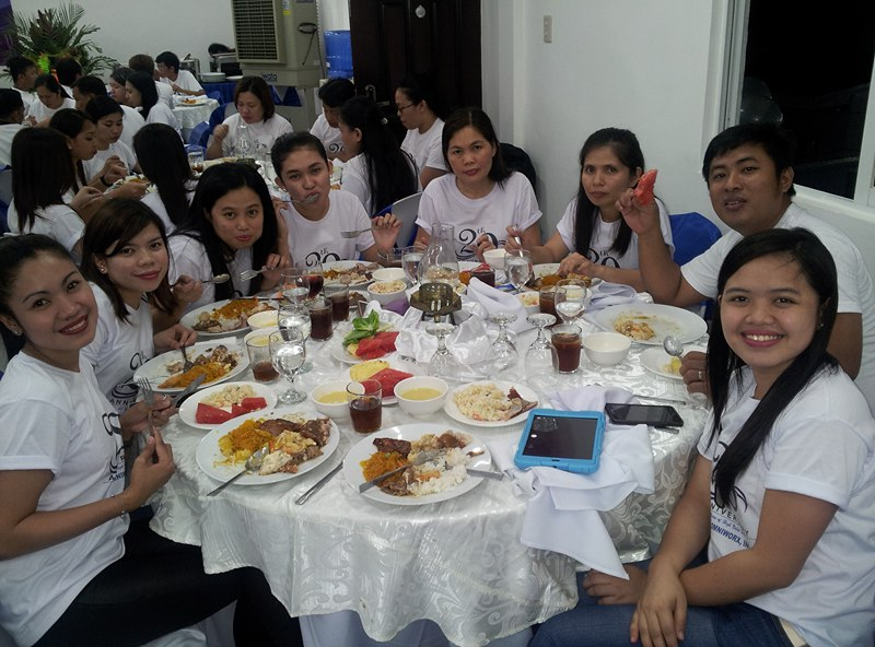 20th Anniversary  - Accounting Department Staffs and Employees